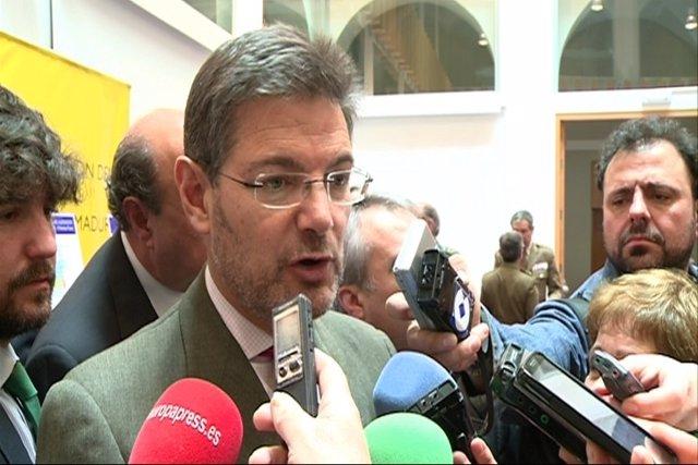"""Foto: El ministro de Justicia destaca las """"felicitaciones"""" de abogados recibidas en el primer día sin tasas judiciales"""