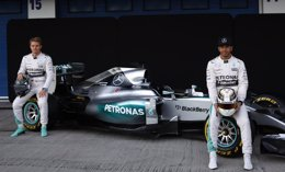 Foto: Mercedes y Ferrari triplicaron a McLaren en pretemporada (MARCELO DEL POZO / REUTERS)