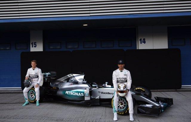 Foto: Mercedes y Ferrari triplicaron a McLaren en pretemporada