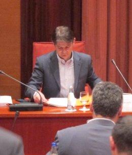 Foto: Oriol Pujol no revela cómo gestionó el supuesto legado del abuelo (EUROPA PRESS)