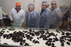 Visita de la conselleira de Medio Rural e do Mar, Rosa Quintana, a Amegrove