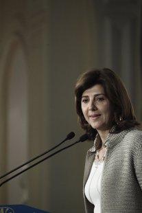 La ministra de Exteriores de Colombia, María Ángela Holguín Cuéllar