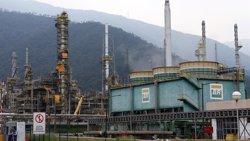 Visión general de la refinería de Petrobras en Cubatao