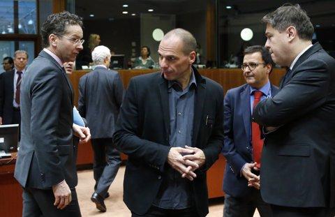Ministro de Finanzas griego Yanis Varoufakis