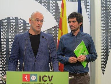 """Foto: Romeva diu que la seva marxa és """"dolorosa"""" però destaca el treball d'ICV (EUROPA PRESS)"""