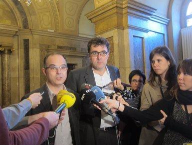 """Foto: CiU i ERC """"adapten"""" les seves esmenes sobre estructures d'Estat al CGE (EUROPA PRESS)"""
