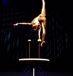 Foto: Trapezistes nord-coreans i saltadors de Rússia guanyen el Festival de Circ de Figueres (COMEDIA)