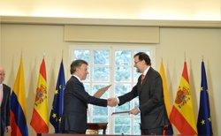 Foto: Rajoy i Santos neguen complot per enderrocar el Govern de Maduro a Veneçuela (PRESIDENCIA.GOV.CO)