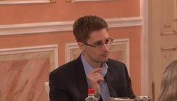 Snowden en Moscú