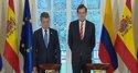 España y Colombia sellan cinco acuerdos de colaboración