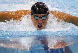 Foto: Phelps podría estar en Kazán (REUTERS)