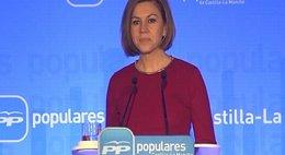 """Foto: Cospedal, convencida de que el PP tiene """"muchas posibilidades de ganar"""" en Andalucía (EUROPAPRESS)"""