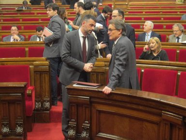 """Foto: Mas adverteix el PP que il·legalitzar el 27S seria """"molt gros"""" (EUROPA PRESS)"""