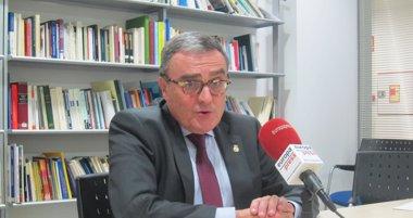 Foto: Anticorrupción busca datos en el Ayuntamiento de Lleida (Europa Press)