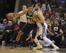 Foto: Grizzlies-Spurs y Bulls-Cavaliers, finales deseadas por Marc Gasol (USA TODAY SPORTS / REUTERS)