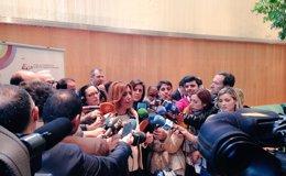 Foto: Susana Díaz asegura que Santamaría anuncia como nuevo el subsidio a parados (EUROPA PRESS)