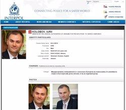 Foto: Ucraïna.-Detingut a Espanya l'últim ministre de Finances de Ianukóvitx, buscat per Interpol (INTERPOL)