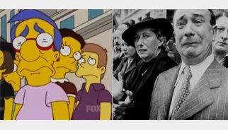 10 fotografías reales que inspiraron algunas parodias de 'Los Simpsons'