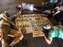 Foto: Manifestantes esperan negociar tras ser desalojados del Parque Augusta en Sao Paulo