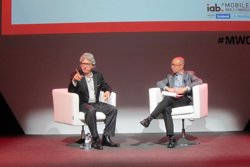 Foto: MWC.- Sable (Young & Rubicam) presenta les novetats d'Iconmobile al Mobile (EUROPA PRESS)