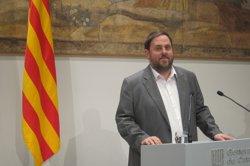 Foto: AMP.- El TSJC rebutja una querella contra Junqueras per suposada malversació al seu municipi (EUROPA PRESS)