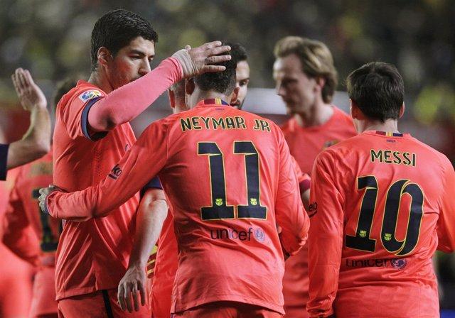 Foto: Un eficaz Barça alcanza la final de Copa