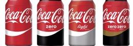 Foto: Coca-Cola tiñe de rojo todas sus marcas (COCA-COLA)