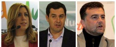 Foto: PSOE-A, PP-A e IULV-CA acuerdan otro 'debate a tres' el lunes 16 en TVE (EUROPA PRESS)