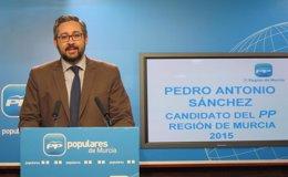 Foto: Comité Electoral PP acuerda por unanimidad proponer a Pedro Antonio Sánchez como candidato en Murcia (EUROPA PRESS)