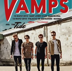 Foto: The Vamps actuaran a Barcelona i Madrid el maig (LIVE NATION)