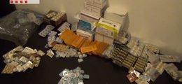 Foto: Cae en Cataluña el principal punto de venta internacional de viagra ilegal (MOSSOS D'ESQUADRA)