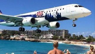 Este vídeo en slow-motion del aterrizaje de un avión en Saint Marteen se hace viral