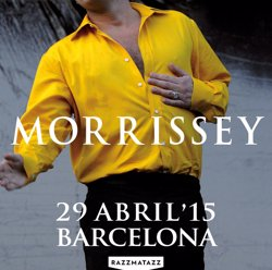 Foto: Morrissey actuarà a Razzmatazz el 29 d'abril (RAZZMATAZZ)
