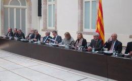 """Foto: Eurodiputados catalanes llevarán """"próximamente"""" las firmas del 9N a Bruselas (EUROPA PRESS)"""