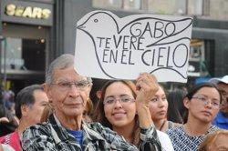 Foto: Primer aniversari sense Gabo, un any de solitud (CONACULTA)