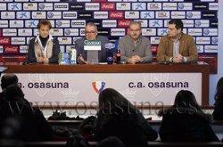 Foto: Futbol.- Luis Sabalza, president de l'Osasuna: