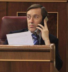 Foto: Rafael Hernando: Los naranjitos de Ciudadanos insultan como los de Podemos (EUROPA PRESS)