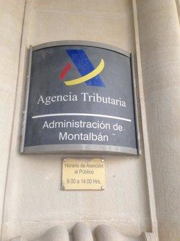 Recurso de una sede de Hacienda - Agencia Tributaria en Madrid