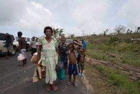 Foto: Hasta 75.000 niños afectados por 'Pam' en Vanuatu, según Save the Children (UNICEF)