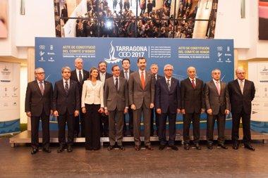 Foto: El Rey Felipe VI constituye el Comité de Honor de Tarragona 2017 (TARRAGONA 2017)
