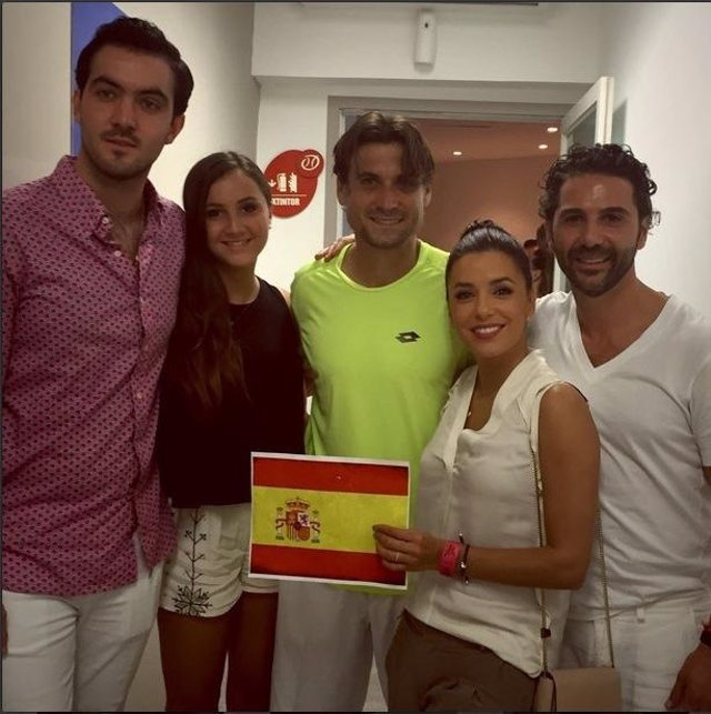 Foto: Instagram: Eva Longoria celebra el triunfo de David Ferrer en Acapulco