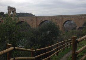 Foto: Turismo.- El entorno del Puente de Alcántara (Cáceres) cuenta con una nueva senda y una zona recreativa (DIPUTACIÓN DE CÁCERES)