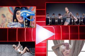 Foto: ¿Conoces a todos los ganadores de los YouTube Music Awards? (YOTUBE/KATY PERRY/TAYLOR SWIFT/MILEY CYRUS/SIA)