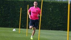 Foto: Futbol.- Vermaelen fa part del treball amb el grup per primera vegada en mesos (FCB)
