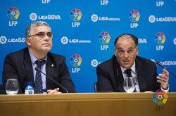 Foto: La Lliga no convoca vaga en espera de negociar la venda centralitzada dels drets de TV (LFP)