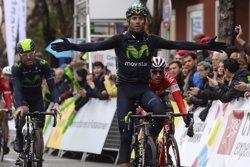 Foto: Pozzovivo sorprèn a Girona i Valverde perd 24 segons per caiguda (JOSEP LAGO)