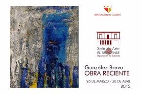 Foto: El pintor Justo González expone su obra más reciente en la sala de arte 'El Brocense' de Cáceres (CEDIDA)