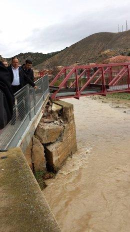 Foto: Sanz dice que municipios afectados crecidas ríos podrán acogerse a ayudas (EUROPA PRESS)