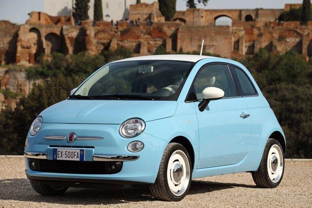 Foto: Fiat presenta la serie Vintage '57 de su modelo 500