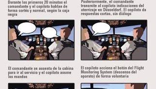 ¿Qué pasó dentro de la cabina del avión Airbus A320?